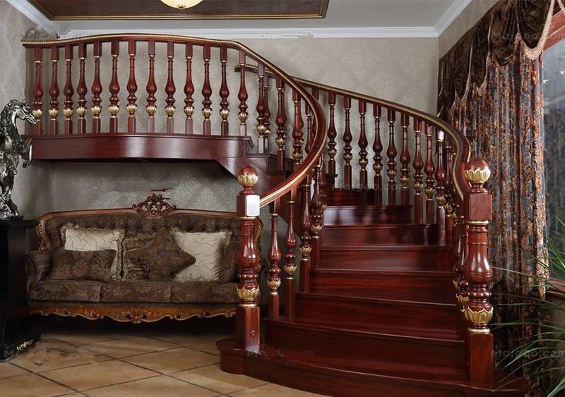 实木楼梯漆应用案例
