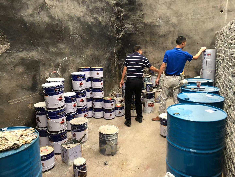 堡润漆在浙江江山木门漆市场进行实地走访考察